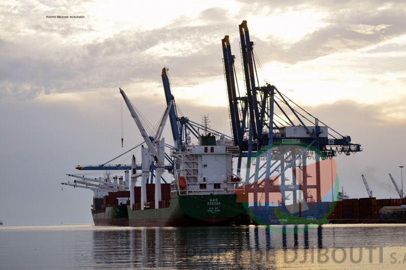 terminal container serving ethiopian line
