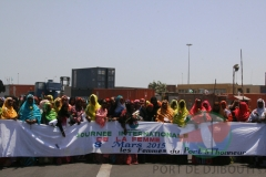 Women day at Port of Djibouti